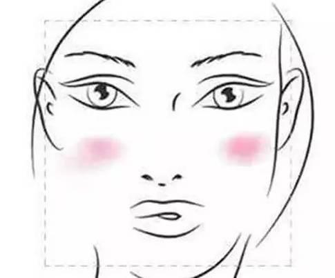 少女动漫手绘脸型