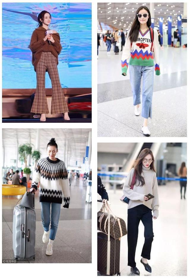 有这6款毛衣+9分裤,过年一定洋气得把亲戚家的小孩比下去!