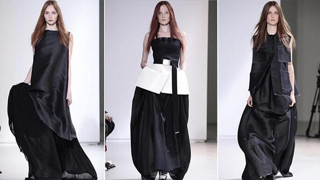 手绘服装设计图女展示
