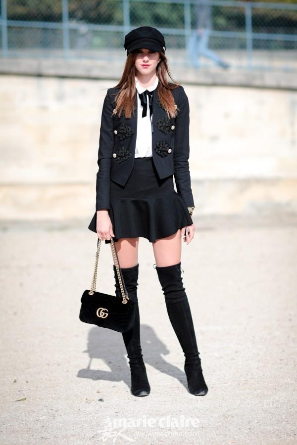 开学季要扮乖,老师家长都爱的黑丝带系领口到底怎么穿?