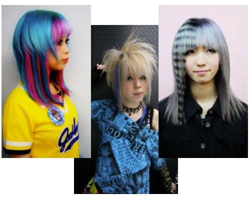 黑白条水墨画或条理分明的发型.