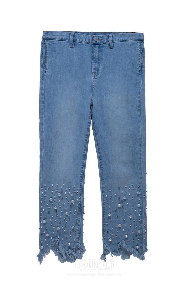 不加盟街拍军团的倪妮还是很带货!比如这条牛仔裤……