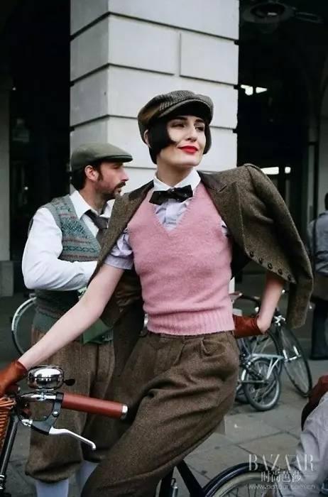 英国人民竟然穿成这样骑车?每天骑小黄车的我惭愧了!