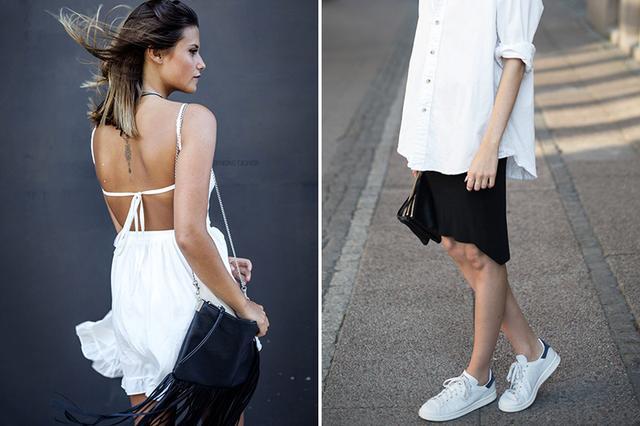这个夏天 黑白穿搭不单调!