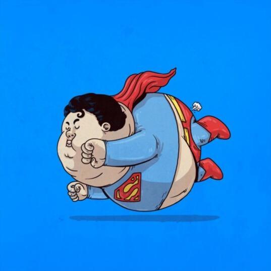 恶搞卡通人物 白雪公主变胖了你还爱吗