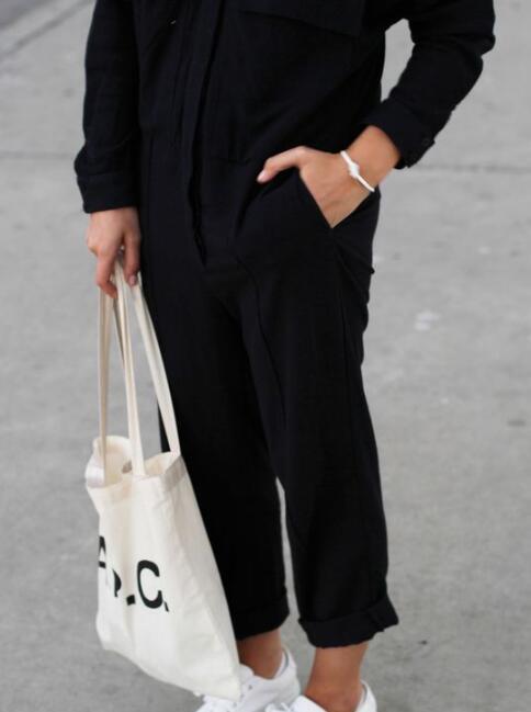 时髦的人都背一只环保袋出街 香奈儿FENDI贵气帆布包