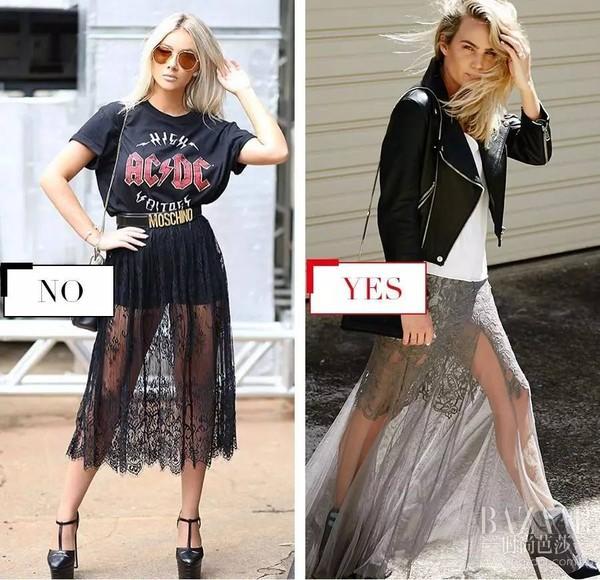 """你以为穿上纱裙都是仙女?半透视裙让80%的人变""""灾难""""!"""