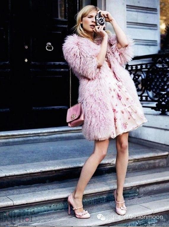 我要暖过一冬---两种长度的皮草大衣穿搭