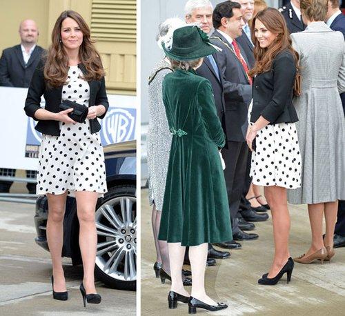 凯特王妃也穿高街品牌 3百元连衣裙引疯抢