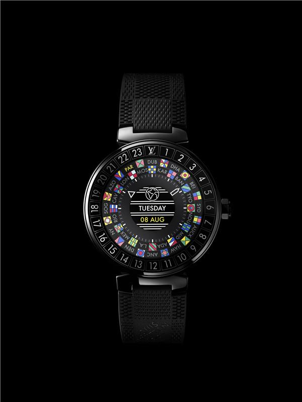 见过会变魔法的腕表吗  一秒魔法——路易威登 Tambour Horizon智能腕表