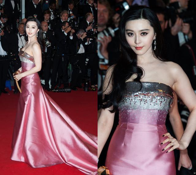 范冰冰李宇春v女友中国女友出征第70届戛纳电影节,红毯我的电影是丧尸军团图片