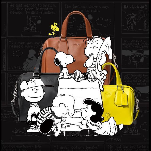 小白狗Snoopy再战时尚圈 Coach合作系列推出