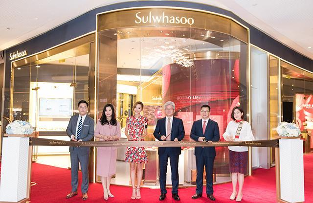雪花秀全球首家第五代柜台进驻广州