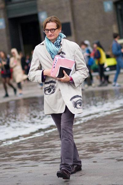 街拍男装周 那些超会打扮的男神编辑们