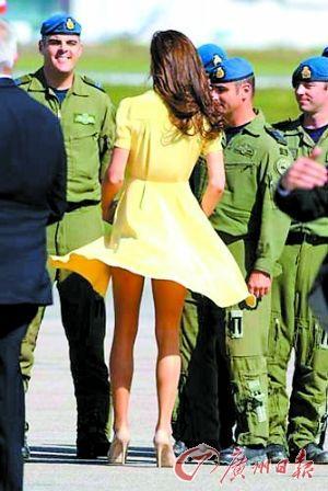 英女王下达服装令:凯特裙子不能太短