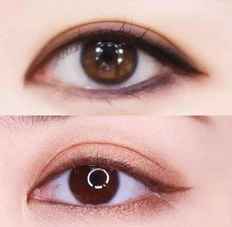 看着你们的颜值 眼线画不好也不是什么问题