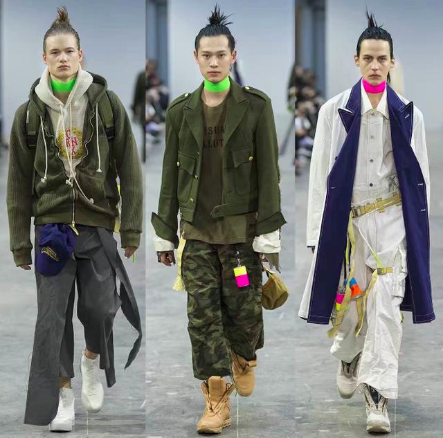 GRNX&上官喆玩转跨界潮流/ GRNX SANKUANZ联名系列正式亮相巴黎时装周