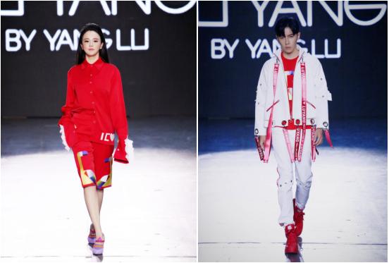 设计师杨露携手冉莹颖和唐禹哲闪耀纽约时装周