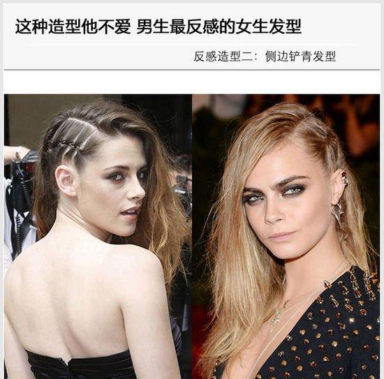 男生v男生大好看女生最反感的皮肤女人男女黑的颜色头发适合什么发型的头发不同吗图片