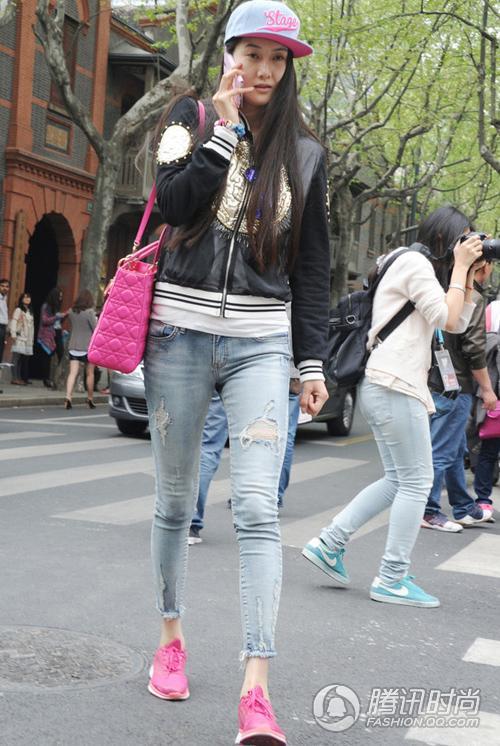 上海时装周街拍 谁让魔都香艳四射图片