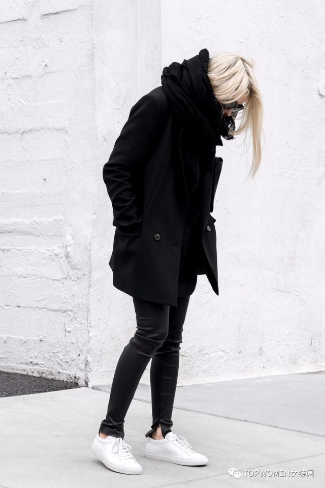 简单最美,冬季极简主义穿搭看这里