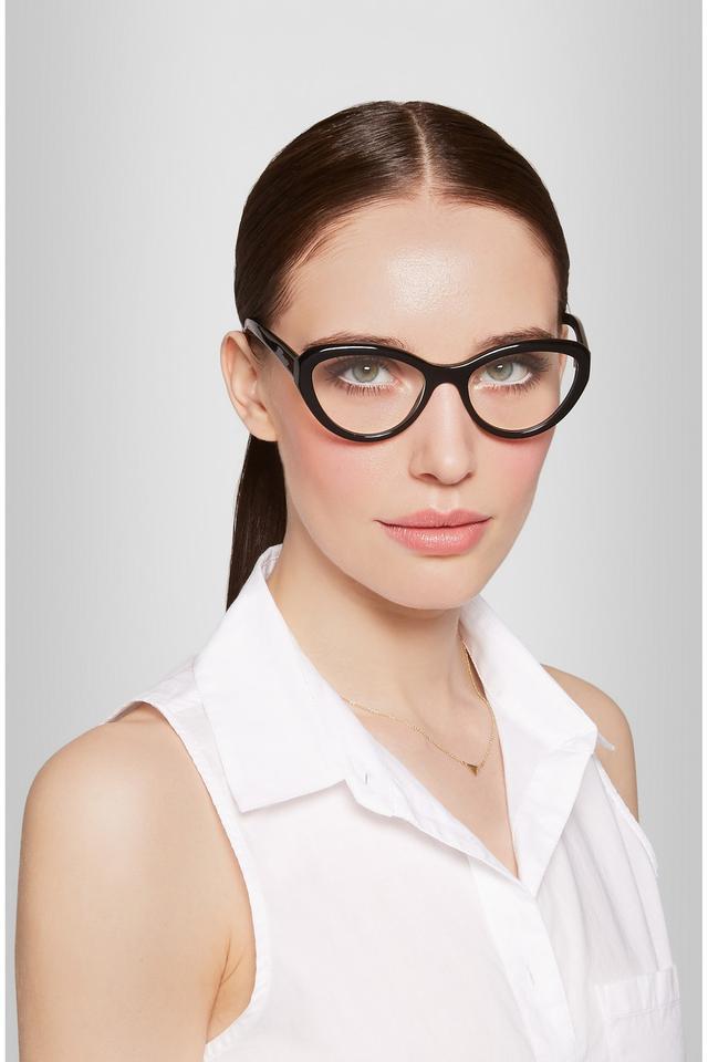 prada eyeglasses  prada cat eye acetate