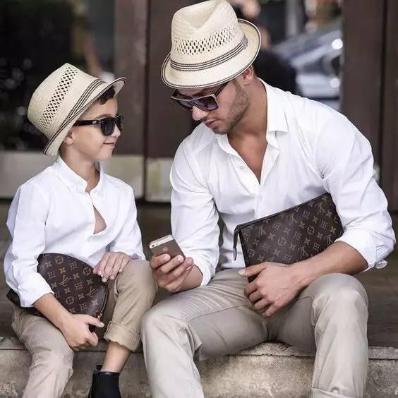 穿搭 | 儿子与父亲,不得不说的潮流搭配单品