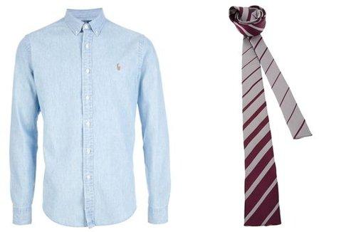 皇室王子穿衣 衬衣与领带的完美搭配