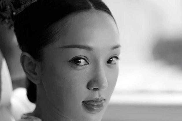 东方美女脸部特写图片