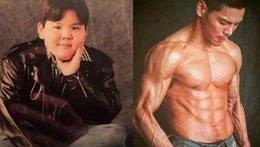 他的背景比景甜更强!为什么还要减肥练成肌肉男?