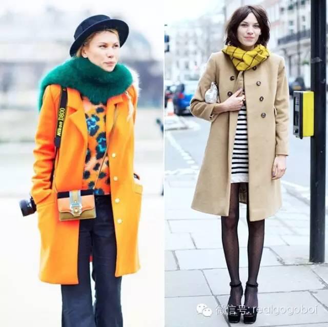 时髦且温暖地过冬,围巾很关键!