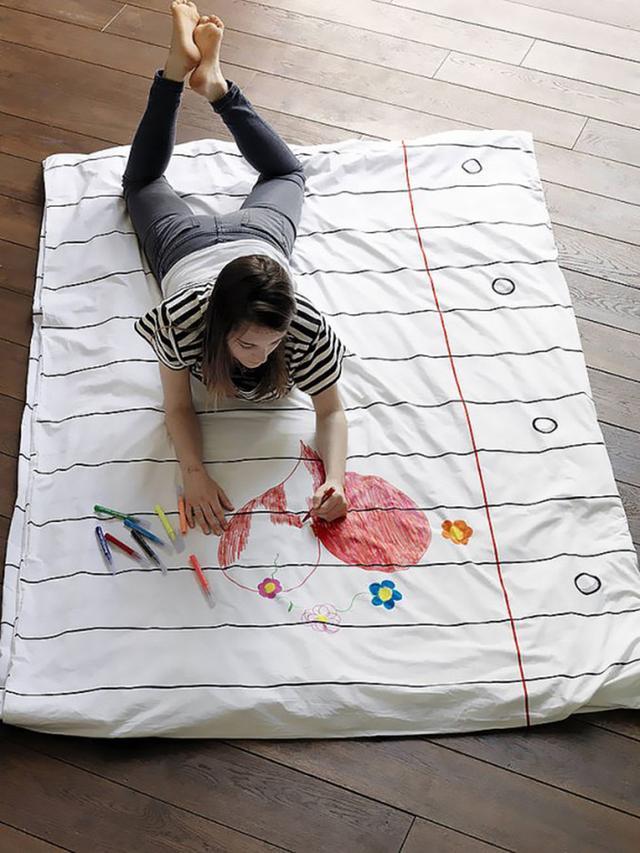 10组让你梦想一秒成真的创意床单