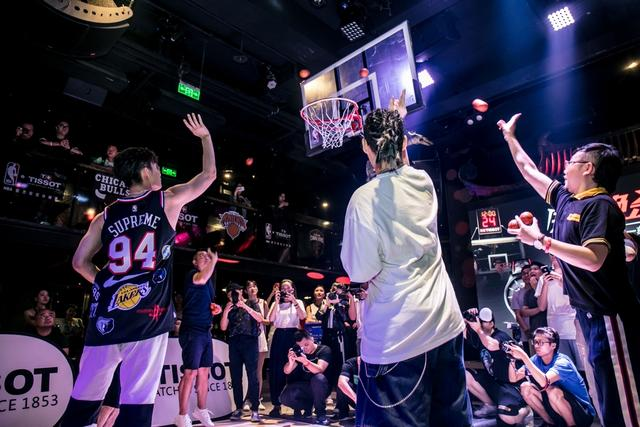这一刻 火力全开 天梭表携手名宿球星 助力NBA中国赛上海站