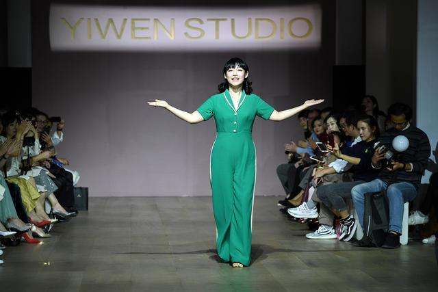 设计师女装品牌YIWEN STUDIO 2018春夏时装发布