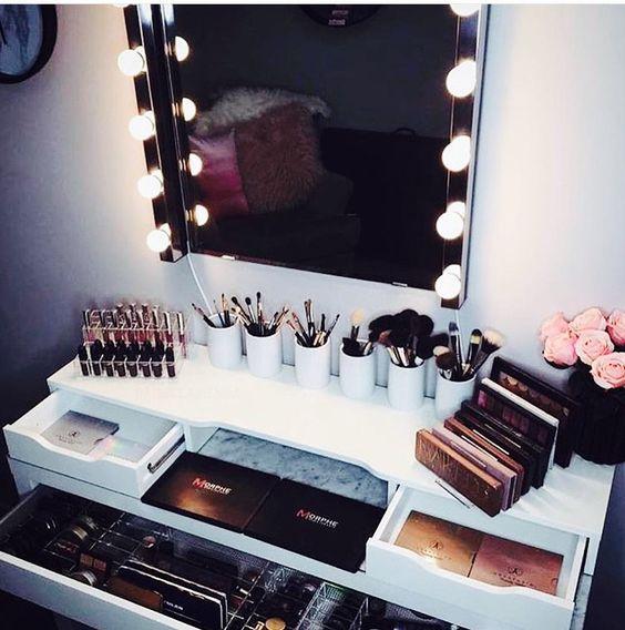 """辛苦种草的昂贵化妆品怎么能胡乱摆放?学好收纳大法,不做乱""""室""""佳人"""