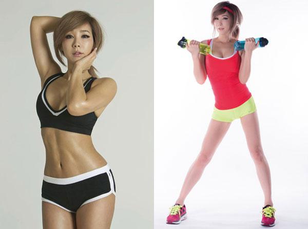韩国美魔女郑多燕因研发出一套专业的健身课程而声名