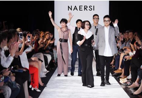 全球最美《绯闻女孩》Queen B 携手NAERSI燃爆纽约时装周