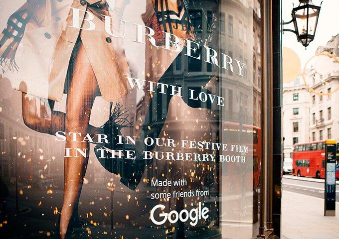 Burberry×Google的数字营销创新