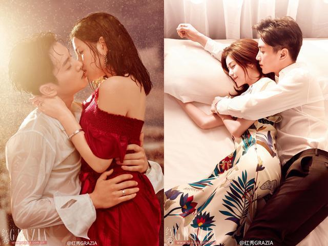 陈晓陈妍希接吻的照片