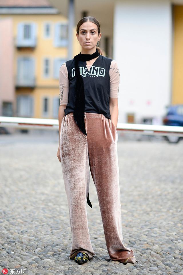 今年秋冬关于穿阔腿裤的问题 都在这里了