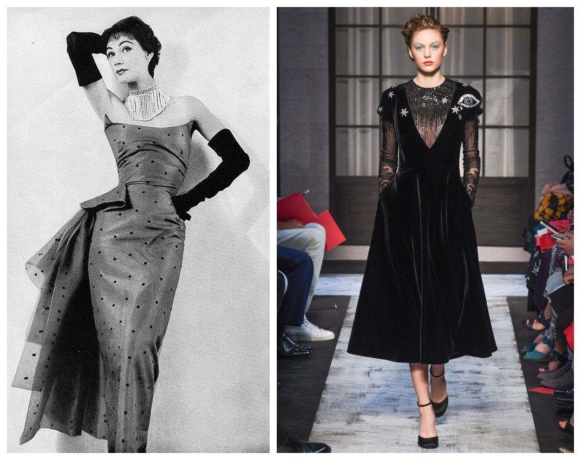 左:ELSA SCHIAPARELLI礼服;右:SCHIAPARELLI2015秋季时装