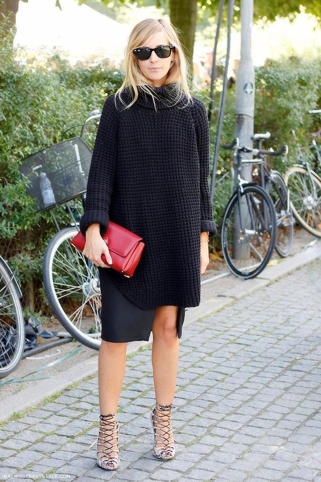 今天穿什么:早秋还想穿裙子?你得这么搭!