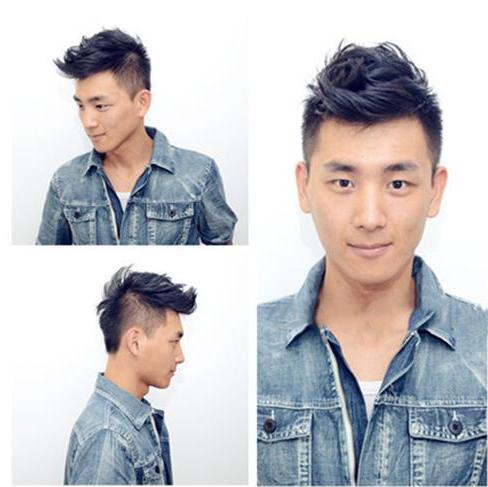 用发泥/发蜡做完基本造型后,接下来就需要把抓好的头发做个定型.