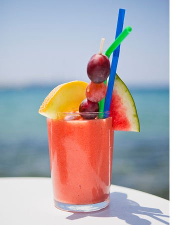 夏日6款超级饮料瘦小腹 快来一杯!