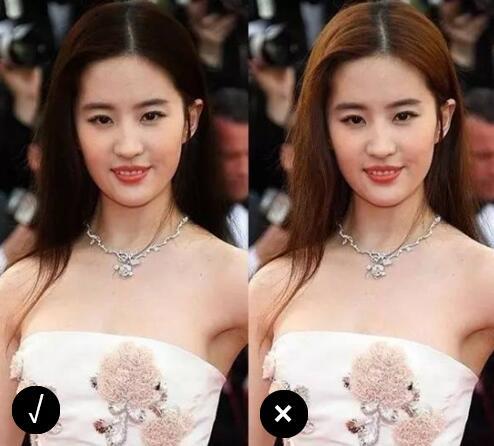 八公举:赵薇宋茜唐嫣大夏天都染黑发去了!不嫌热反倒美了