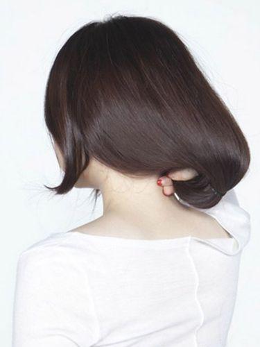 【美丽宝盒】长发变短发方法图解 瞬间变身思密达图片