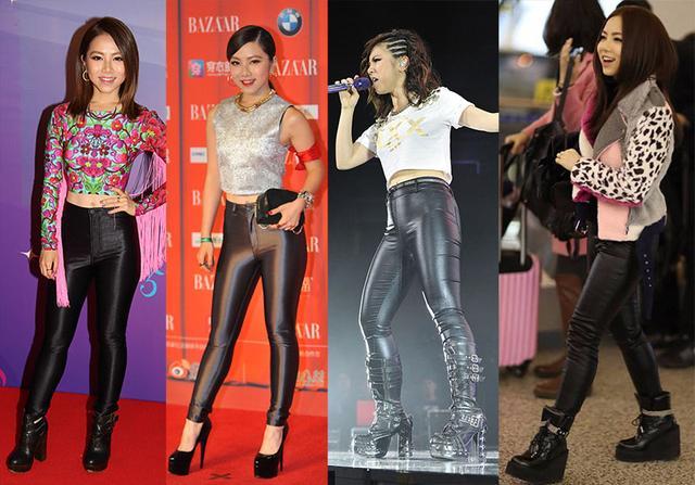 为什么林志玲有大长腿却依旧穿不好邓紫棋的皮裤