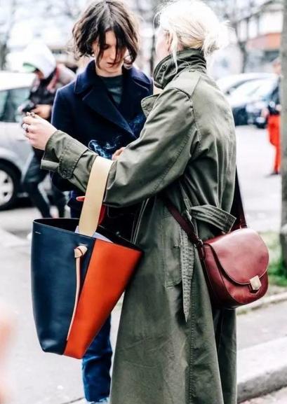 红遍街头巷尾  时髦咖都爱Céline大号手袋,不来一个你就真Out了!!