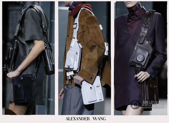 纽约时装周  皮包趣味盘点