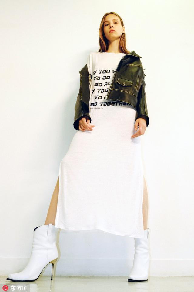 """""""一件知秋""""的连衣裙"""